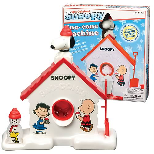snoopy sno cone maker instructions