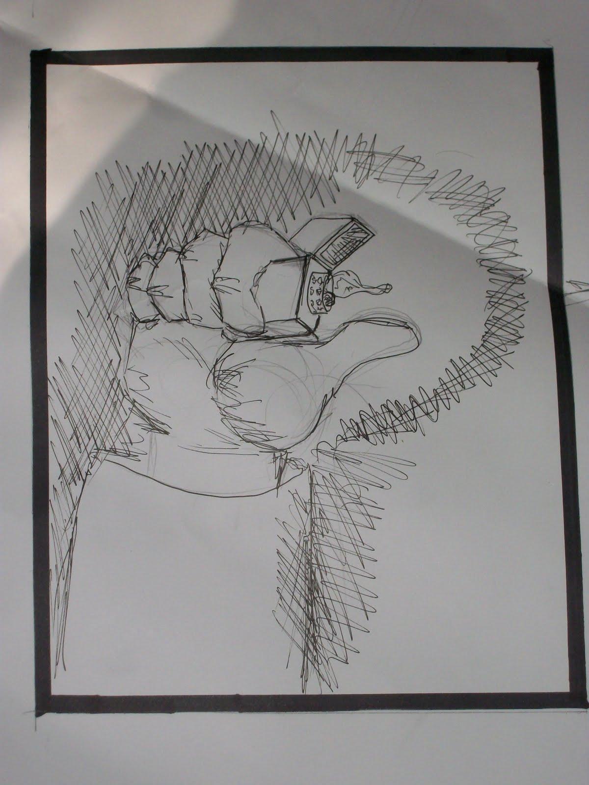 Dibujo Camilo Venegas: Angulo Recto
