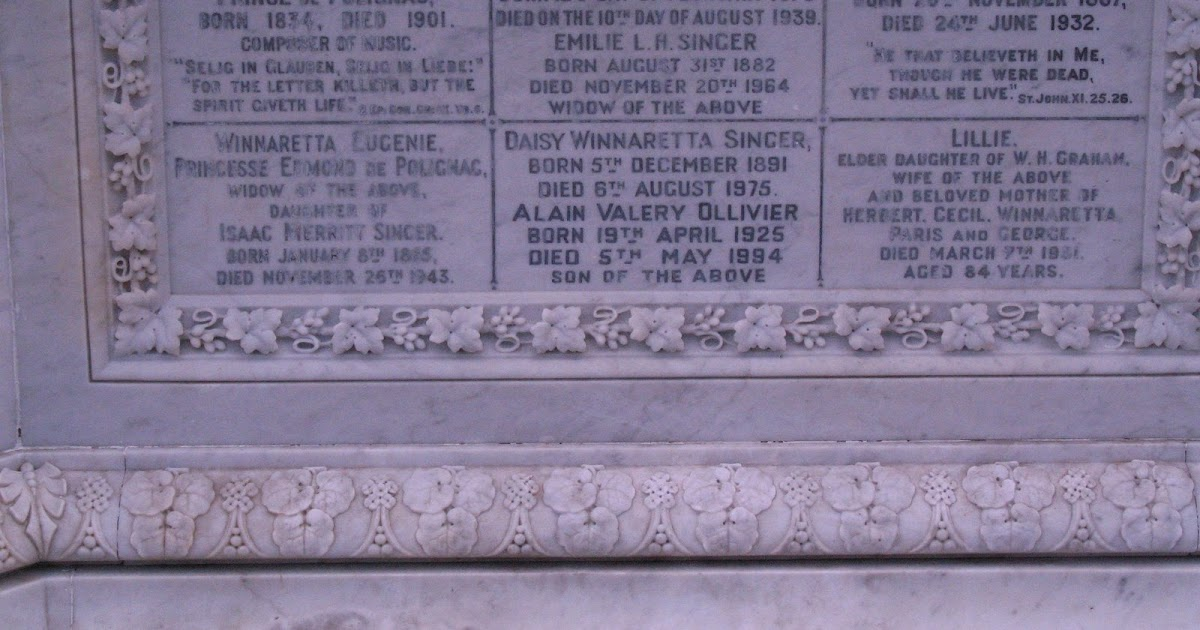 Devon Graves Amp Burial Sites Isaac Singer