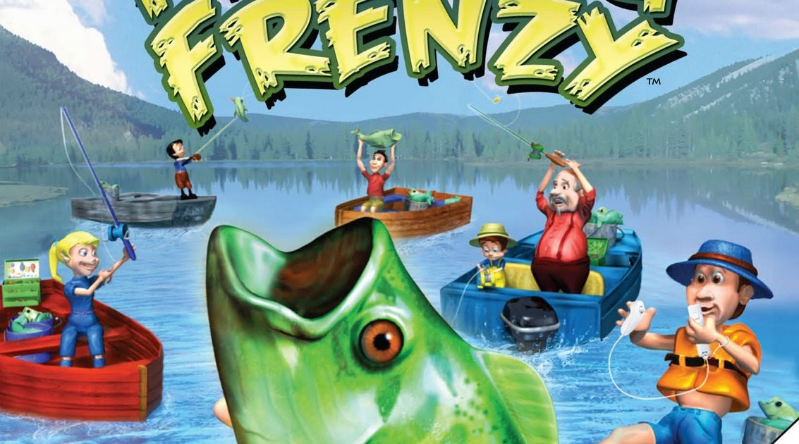 Outdoor u rapala 39 s fishing frenzy for Wii fishing games