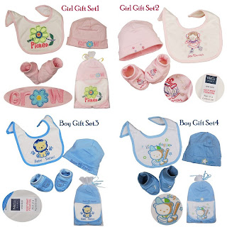 Girl Gift Sets on Cherish Our Kids Moments  Baby Girl And Boy 3pcs Gift Set