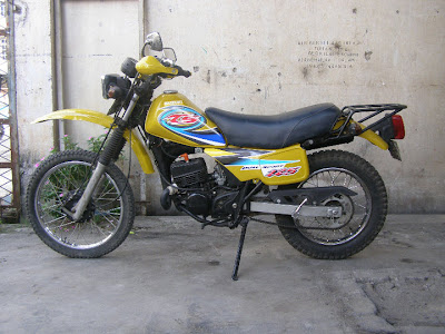 ontel bicycle modification suzuki ts 125 thn 1996