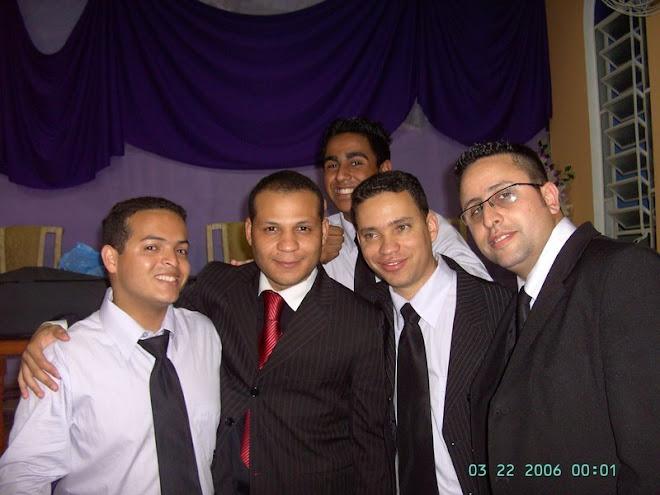 Ricardo,Pr. Carlos Alexandre e Aguinaldo