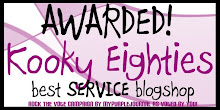 KOOKYEIGHTIES VOTED BEST SERVICE BLOGSHOP!