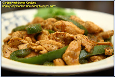 Black Pepper Chicken Recipe Home Cooking Recipe