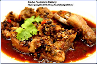 Steamed Chicken with Preserved Wet Plums