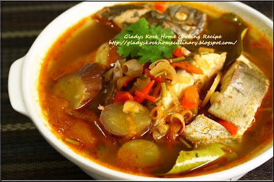 Home-cooked Tangy Thai Tom Yam (Tom Yum) Fish