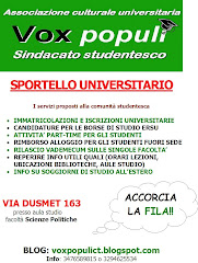 SPORTELLO UNIVERSITARIO