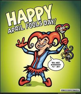 April Fools  day april 1