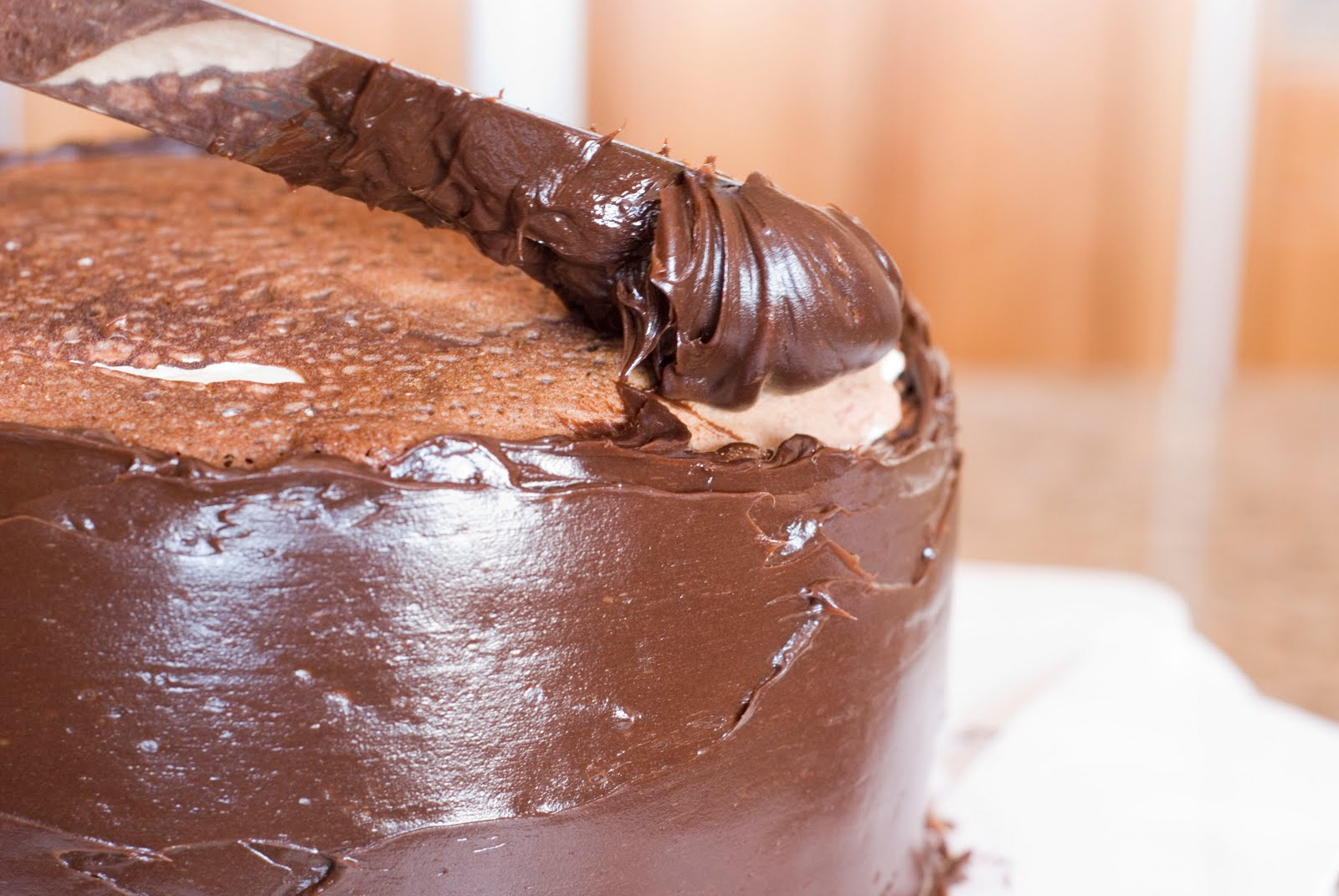 how to make a ganache thicker