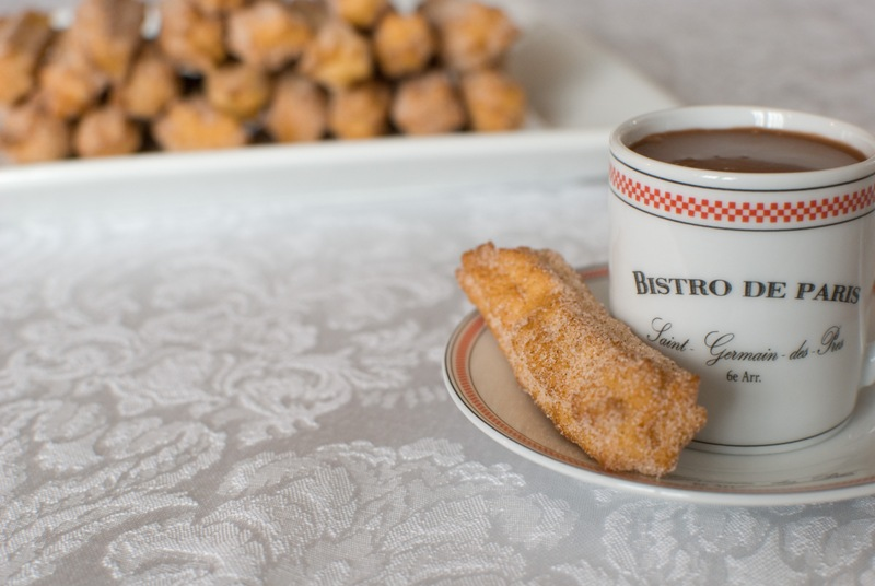 Simply So Good: Churros and Hot Chocolate