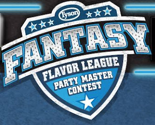 Tyson Fantasy Flavor League Party Master Instant Win Game