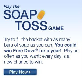 Dove the Soap Toss Game