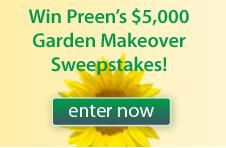 Preen $5000 Garden Makeover Sweepstakes