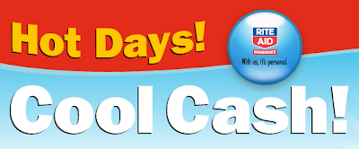 Rite Aid Hot Days! Cool Cash! Sweepstakes