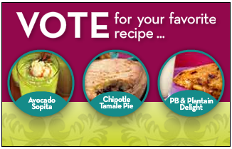 WhyMilk's Simply Delicioso Instant Win Recipe Vote Promotion