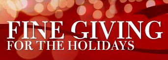 Fine Giving for the Holidays Instant Win Sweepstakes
