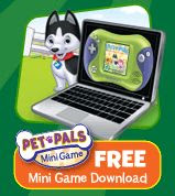download the Pet Pals Leapfrog mini game free with special promo code