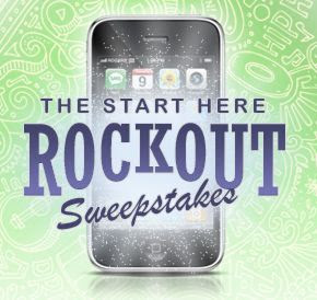 The Start Here, Rock Out Sweepstakes