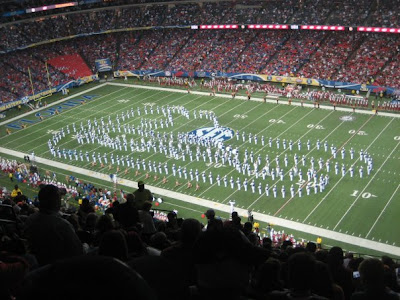 2009 SEC Championship Dr Pepper Sponsored Trip Win Update - Halftime show