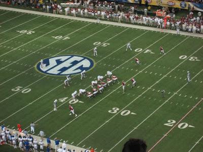 2009 SEC Championship Dr Pepper Sponsored Trip Win Update