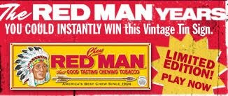Red Man Heritage Challenge Instant Win Game