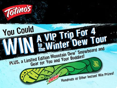 Totinos Winter Dew Tour Sweepstakes