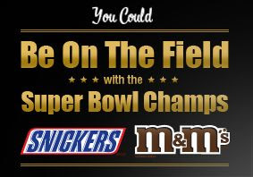 2009 Mars Snackfood Celebrate On the Field Instant Win Sweepstakes Game Codes