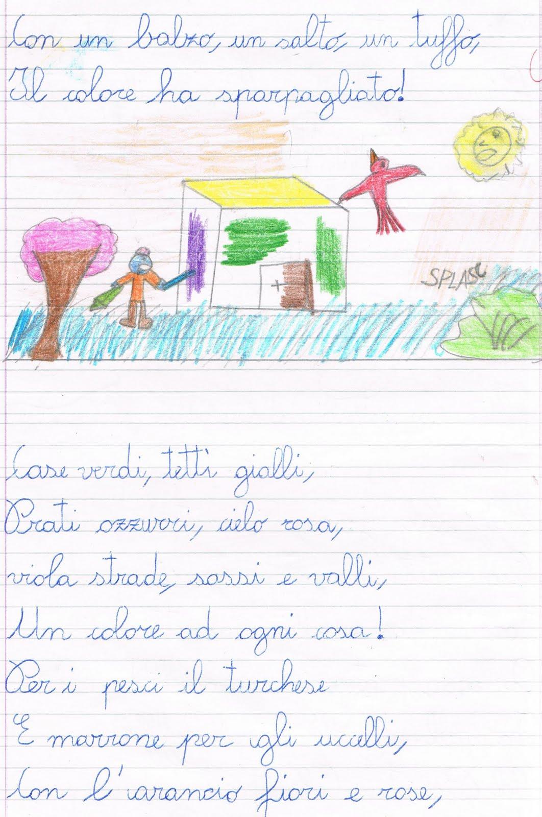 Primi Giorni Di Scuola In Classe Terza Italiano