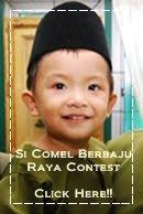 Contest Si Comel Berbaju Raya