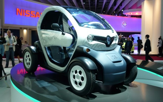 Renault Twizy ZE production version
