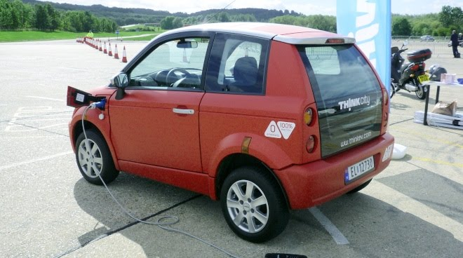 Think City EV charging