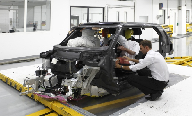 BMW i3 chassis testing