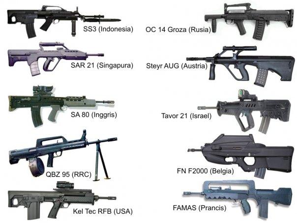 SS3 Pindad Rifle