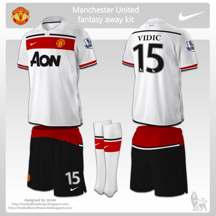 Football kits design january 2011 for Manchester united shirt sponsor