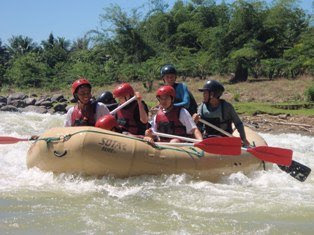 CDO Whitewater Rafting Adventure 2009-calm waters