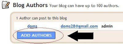 blogger add author
