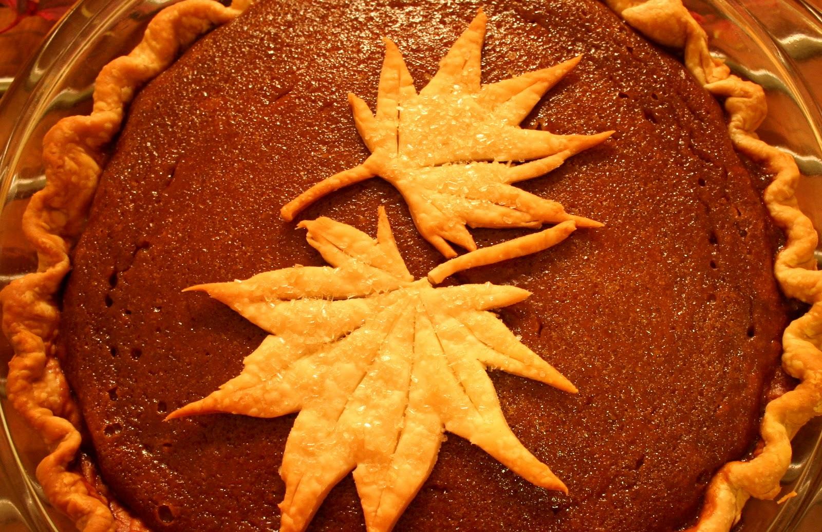 Cheers to Happy: Pumpkin Gingerbread Pie....