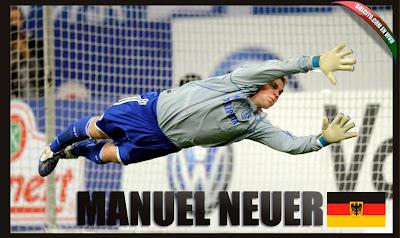 Equipo de Alemania Manuel NEUER