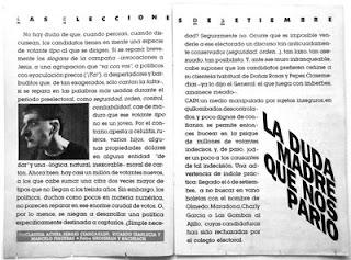 Suplemento Caín N° 6, Revista Humor, 1987