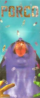 El arte del primer disco de Porco: psicofármacos y hardcore
