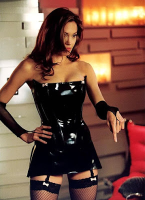 Angelina Jolie en el film Mr. & Mrs. Smith