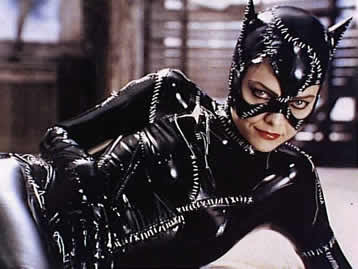 Michelle Pfeifer en el film Batman Returns