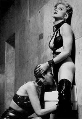 Fotografía de Madonna extraída de su libro Sex