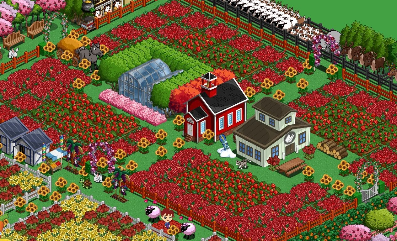 The pretty geeks farmville decoration pics for Form ville
