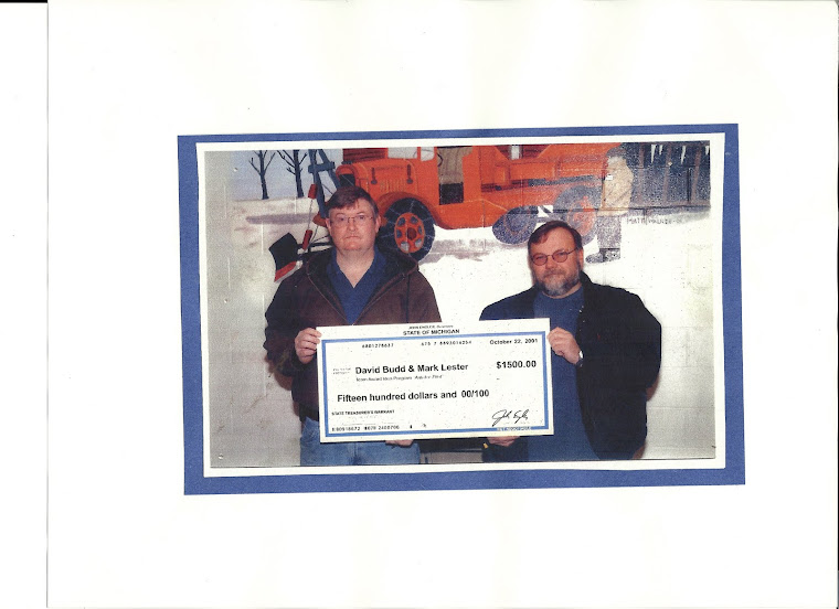 Largest check I ever received....