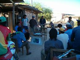 Participación indígena en el monitoreo ambiental
