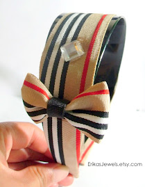 Burberry Inspired Bow Headband!