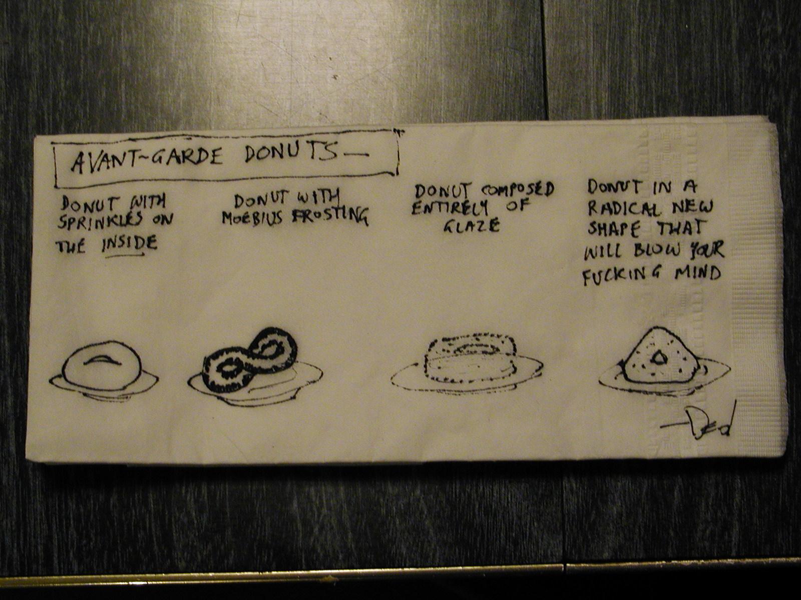 [avant+garde+donuts]