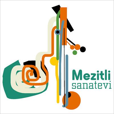 tuğ231e g252rel quotmezitli sanatevi mezitli art centerquot logo